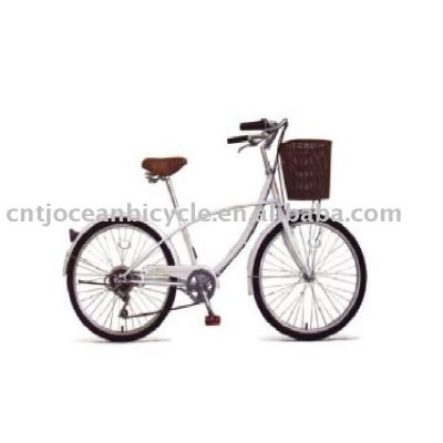 24 INCHES STELL FRAME CITY BICYCLE