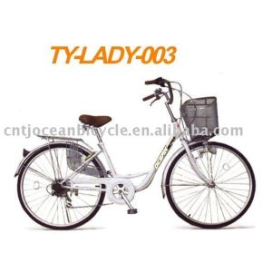lady bicycle for promotion