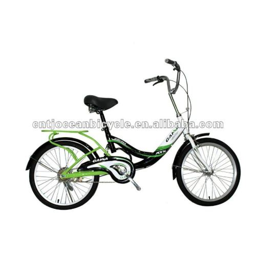 20 inches  steel frame city bike for girl