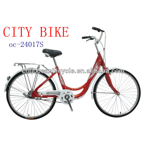 China Tianjin Factory Produce Good Girl Red Bicycle For Sale