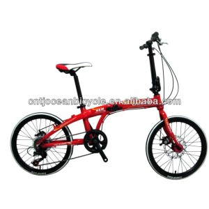 2015 FASHION!!! HIGH quality alluminium folding bike/folding bicycle on sale
