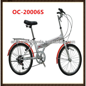 Steel Frame 7 Speed Foldable Bicycles for Sale