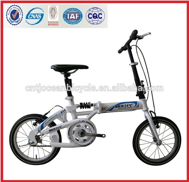 Tianjin Factory 16 Inch Folder Bicycle