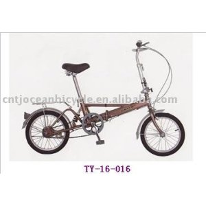 High quality aluminum children folding bike for sale.