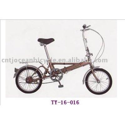 High quality aluminum children folding bike for sale.