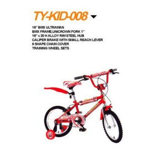 16 inches steel frame High quality children bicycle.