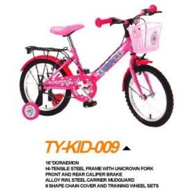 16 inches steel frame High quality children bicycle for sale.