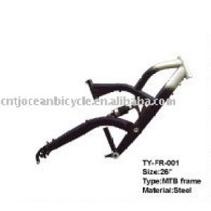 New Design Suspension Steel Mountain Bike Frame TY-FR-001