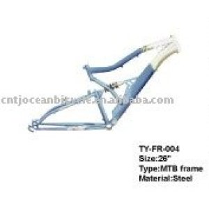 Suspension Steel Mountain Bicycle/Sports Bike Frame TY-FR-004