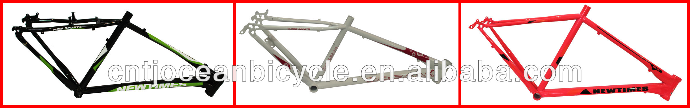 China Tianjin Bicycle Frame/MTB Frame/Steel Bicycle Frame/Raw Bicycle Frame
