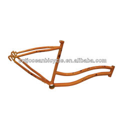 Cheap Steel Lady's Beach Cruiser Frames/Beach Bicycle Parts OC009