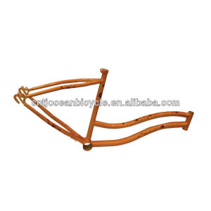 Cheap Steel Lady's Beach Cruiser Frames/Beach Bicycle Parts OC009