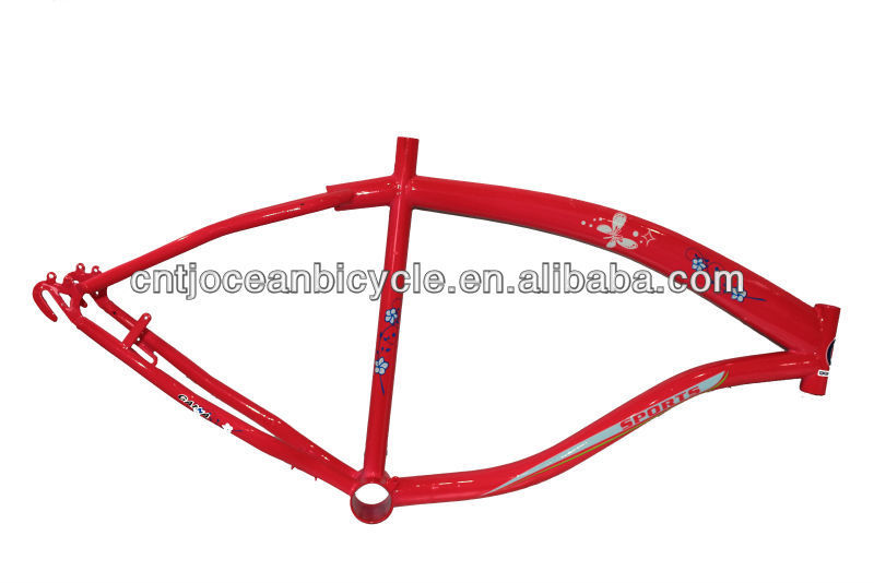 Chic Steel Beach Cruiser Frames OC015