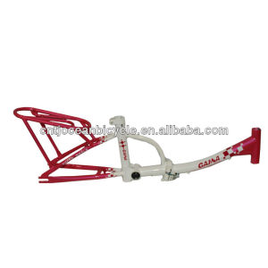 Light Weight Folding Bicycle Steel Frame/Bicycle Spare Parts OCZ002