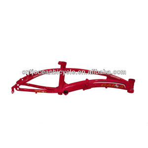 Bicycle Parts Steel Folding Bike Frame on Sale OCZ004