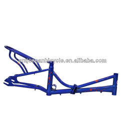 Bicycle Spare Parts Steel Folding Bike Frame with Carrier OCZ006
