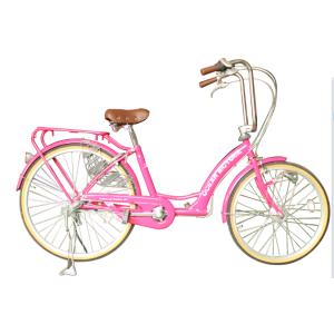 pink city bike