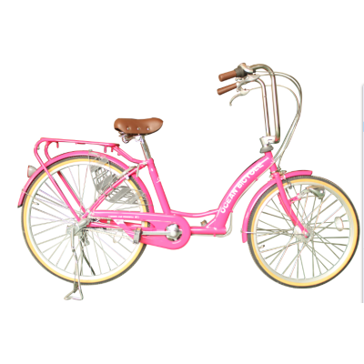 20 INCHES STEEL FRAME PINK CITY BIKE