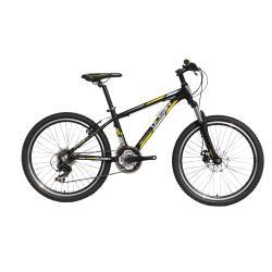 Alloy full suspension mountain bike