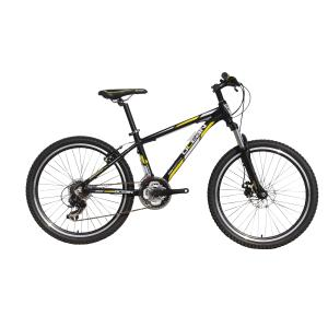 Alloy full suspension mountain bike