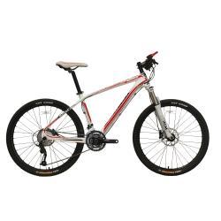 Alloy full suspension MTB bike