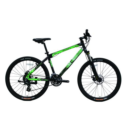 26 INCH ALLOY SUSPENSION FORK AND FRAME MOUNTAIN BICYCLE