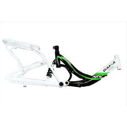 Steel 20 City Bicycle Frames with Carrier/Bicycle Parts OCJ001