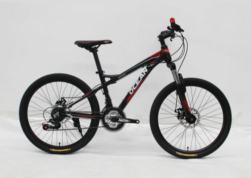 24 INCH ALLOY FRAME Mountain bike SHIMANO EZ-FIRE 21S GEAR