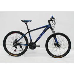 "26""ALLOY FRAME Mountain Bike STEEL LOCK OUT SUSPENSION FORK"