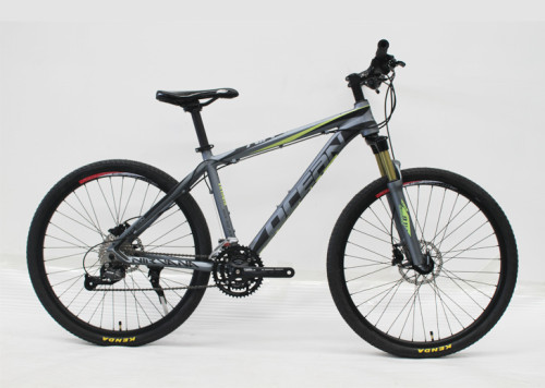 26 INCH ALLOY FRAME AND SUSPENSION FORK 27S MOUNTAIN BICYCLE