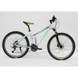 """27.5""""ALLOY FRAME MOUNTAIN BIKE REMOVE SPEED LOCK OUT SUSPENSION FORK"""