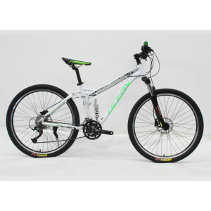 "27.5""ALLOY FRAME MOUNTAIN BIKE REMOVE SPEED LOCK OUT SUSPENSION FORK"