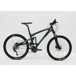 "26""FULL SUSPENSION ALLOY MOUNTAIN BIKE DEORE 30S SYSTEM"