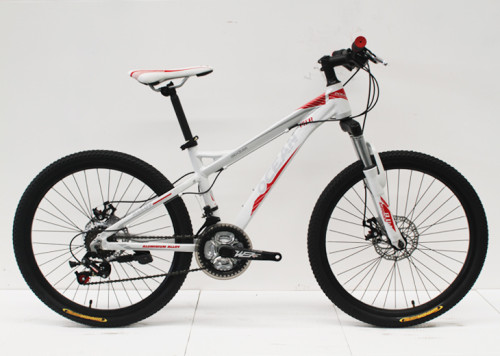"""24""""ALLOY FRAME WITH STEEL SUS FORK MOUNTAIN BIKE"""