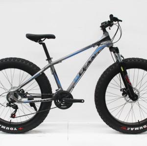"26""FAT BIKE ALLOY FRAME  ALLOY SUSPENSION FORK FAT TYRE MOUNTAIN BIKE"