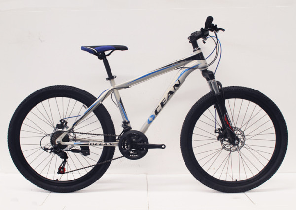 "26""STEEL FRAME STEEL SUSPENSION FORK MOUNTAIN BIKE MTB BIKE"