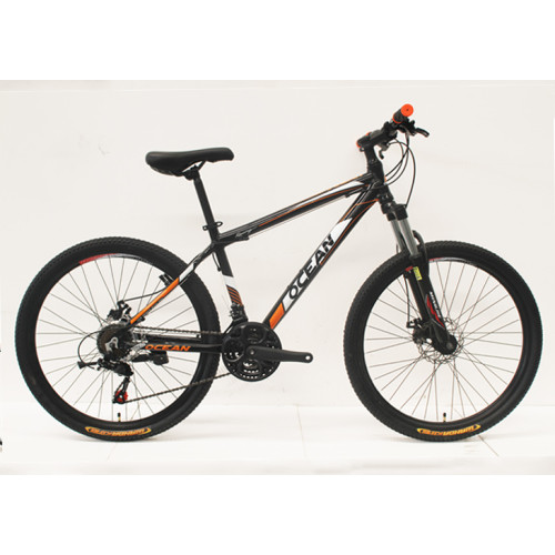 "26""ALLOY FRAME STEEL LOCK OUT SUSPENSION FORK MOUNTAIN BIKE"