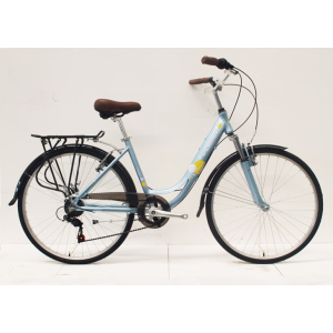 "26""ALLOY FRAME STEEL FORK CITY BIKE"