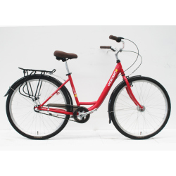 700C STEEL FRAME  STEEL FORK RIGID CITY BIKE