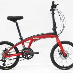 "20""ALLOY FOLDING BIKE FRAME ALLOY RIGID FORK FOLDING BIKE OC-17F20016A05"