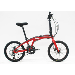 "20""ALLOY FOLDING BIKE FRAME ALLOY RIGID FORK FOLDING BIKE"