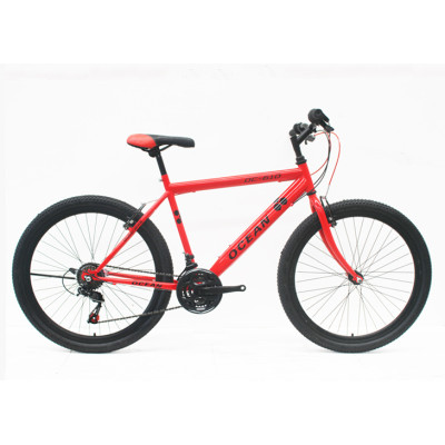 "26""STEEL FRAME  STEEL FORK MOUNTAIN BIKE"
