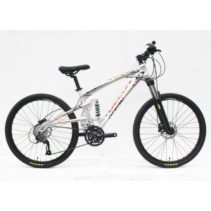 "26"" ALLOY FRAME FULL SUSPENSION FORK WITH ML/O  MOUNTAIN BIKE"