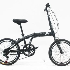 "20""STEEL FOLDING BIKE FRAME STEEL RIGID FORK FOLDING BIKE OC-17F20007S11"