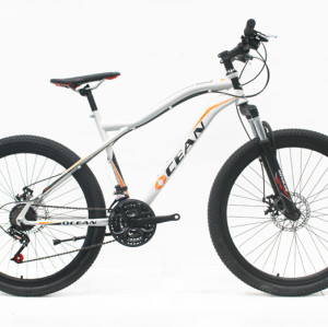 "26""STEEL FRAME STEEL SUSPENSION FORK MOUNTAIN BIKE"