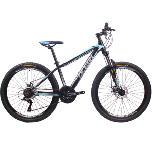 Lockable suspension fork Alloy Mountain bike 26 inch Alloy frame 24 speed MTB