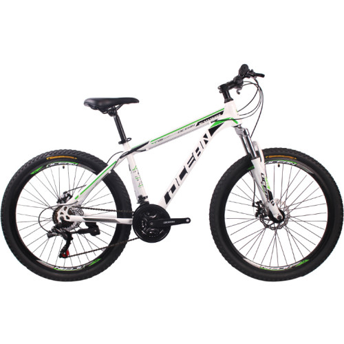 26 inch Steel frame and fork disc brake Mountain bike MTB Bicycle