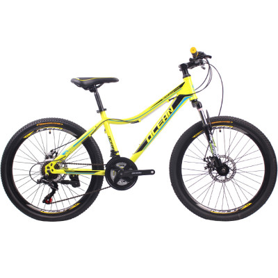 24 inch Steel frame steel fork SHIMANO 21 speed Disc brake Mountain bike MTB