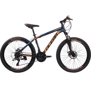 26 inch Hi-ten steel Frame and fork SHIMANO 21 speed Disc brake Mountain bike MTB bicycle