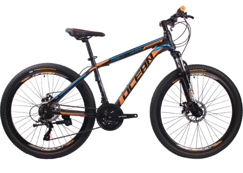 26 inch Hi-ten steel Frame and fork SHIMANO 21 speed Disc brake Mountain bike MTB bicycle